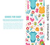 set of design templates for... | Shutterstock .eps vector #640227331