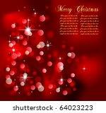 merry christmas elegant...   Shutterstock .eps vector #64023223
