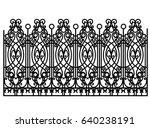 Black Forged Modular Fence...