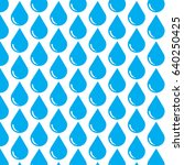 pattern background water drop... | Shutterstock .eps vector #640250425