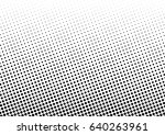 abstract halftone dotted... | Shutterstock .eps vector #640263961