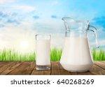 milk. | Shutterstock . vector #640268269