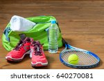 set of sports facilities for... | Shutterstock . vector #640270081