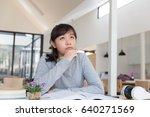 asian girl female teenager... | Shutterstock . vector #640271569