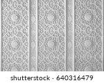 elements of the oriental... | Shutterstock . vector #640316479
