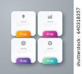 business infographics template... | Shutterstock .eps vector #640318357