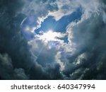sunlight overcast cloud | Shutterstock . vector #640347994