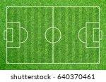soccer field football grass... | Shutterstock . vector #640370461