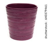 Empty Beautiful Ceramic Pot...