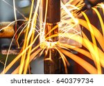 industrial  automotive spot... | Shutterstock . vector #640379734