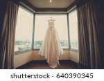wedding dress bride | Shutterstock . vector #640390345