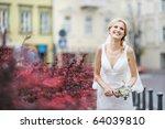 The Beautiful Bride Smiling...