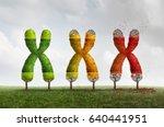 telomere length loss health... | Shutterstock . vector #640441951