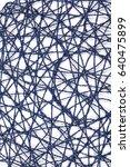 blue paper mat. | Shutterstock . vector #640475899