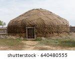mongol empire. the capital of... | Shutterstock . vector #640480555