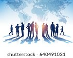 business group. vector... | Shutterstock .eps vector #640491031
