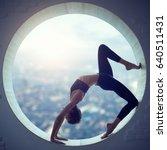 Beautiful Sporty Fit Yogi Woma...