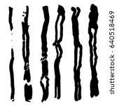 set of different grunge vector... | Shutterstock .eps vector #640518469