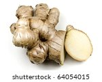 Fresh Ginger - stock photo