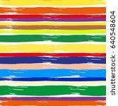 stripe vector splash repeating... | Shutterstock .eps vector #640548604