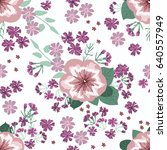 seamless gorgeous pattern in... | Shutterstock .eps vector #640557949