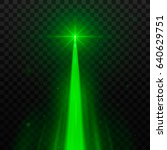 abstract green laser beam.... | Shutterstock .eps vector #640629751