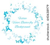 festive colorful background... | Shutterstock .eps vector #640638979