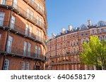 opulent restored elegant... | Shutterstock . vector #640658179