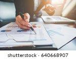 business concept. business... | Shutterstock . vector #640668907