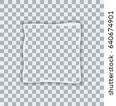 vector modern ripped torn paper ... | Shutterstock .eps vector #640674901