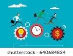 concept illustration of... | Shutterstock .eps vector #640684834