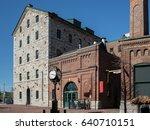 toronto distillery district   | Shutterstock . vector #640710151