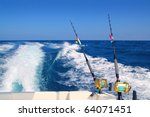 Trolling Fishing Boat Rod And...