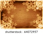 christmas abstract background... | Shutterstock . vector #64072957