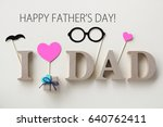 Happy Fathers Day Background...