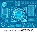 abstract future  concept vector ... | Shutterstock .eps vector #640767469