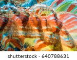 Colorful Rainbow Mountains In...