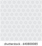 abstract retro pattern of... | Shutterstock .eps vector #640800085
