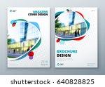 brochure template layout design.... | Shutterstock .eps vector #640828825