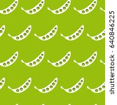 pattern with abstract green... | Shutterstock .eps vector #640846225