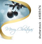 christmas card with some... | Shutterstock .eps vector #64085476