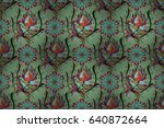 endless raster texture for... | Shutterstock . vector #640872664
