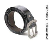 belts. belts on a background.... | Shutterstock . vector #640892551