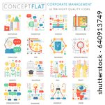 infographics mini concept...   Shutterstock . vector #640913749