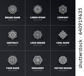 vector indian mandala | Shutterstock .eps vector #640919635