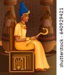 vector design of egyptian...   Shutterstock .eps vector #640929421