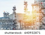 oil and gas industry refinery... | Shutterstock . vector #640932871