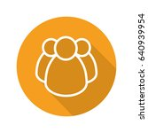 community flat linear long... | Shutterstock .eps vector #640939954