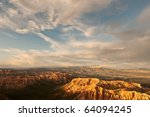 Bryce Canyon Views - stock photo