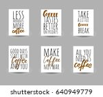 make coffee not war.less... | Shutterstock .eps vector #640949779